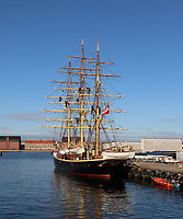 Georg Stage training ship, General Views of Copenhagen, Denmark, 07 October 2019, Photo by Richard Goldschmidt
