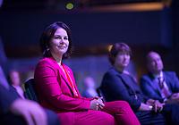 DEU, Deutschland, Germany, Berlin, 22.06.2021: Annalena Baerbock, Kanzlerkandidatin und Bundesvorsitzende von BÜNDNIS 90/DIE GRÜNEN, beim Tag der Industrie (TDI) des Bundesverbands der Deutschen Industrie (BDI) in der Verti Music Hall.