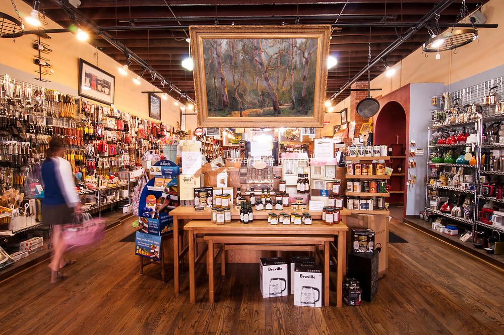 Rudy's a gourment kitchen store, downtown Twin Falls, Idaho.