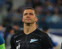 November 5, 2019, Saint-Petersburg, Russia: Russian Federation. Saint-Petersburg. Gazprom Arena. Football. UEFA Champions League. Group G. round 4. Football club Zenit - Football Club RB Leipzig. Player of Zenit football club (Credit Image: © Russian Look via ZUMA Wire)