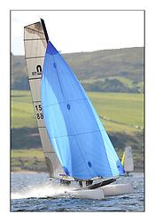 Largs Regatta Week 2011..Catamaran, 1568, Formula 18, Nigel Lynn, Alan Nesbitt