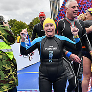 Thousands participle Swim Serpentine 2018, London, UK. 22 September 2018.