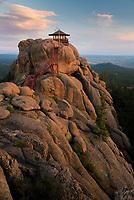 Devils Head fire lookout in the Rampart Range, Colorado.