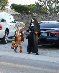 EXCLUSIVE: Paula Patton and her son dressed up for Halloween in Malibu. 31 Oct 2018 Pictured: Paula Patton. Photo credit: MEGA TheMegaAgency.com +1 888 505 6342