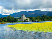 Ross Castle on Lough Leane Killarney Ireland, once home to the O'Donoghue Family.<br /> Picture by Don MacMonagle -macmonagle.com