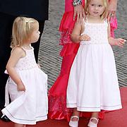 NLD/Apeldoorn/20070901 - Viering 40ste verjaardag Prins Willem Alexander, Amalia en Alexia