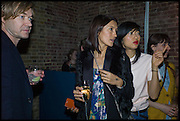 HARLAND MILLER; HIKARI YOKAHAMA; MIMI XU, Julia Peyton-Jones, Hans Ulrich Obrist and Coach host the Serpentine Future Contemporaries Party. Serpentine Sackler Gallery. Kensington Gdns. London. 21 February 2015