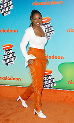 March 23, 2019 - Los Angeles, California, U.S. - JENNIFER HUDSON attends Nickelodeon's 2019 Kids' Choice Awards at Galen Center. (Credit Image: © Imagespace via ZUMA Wire)