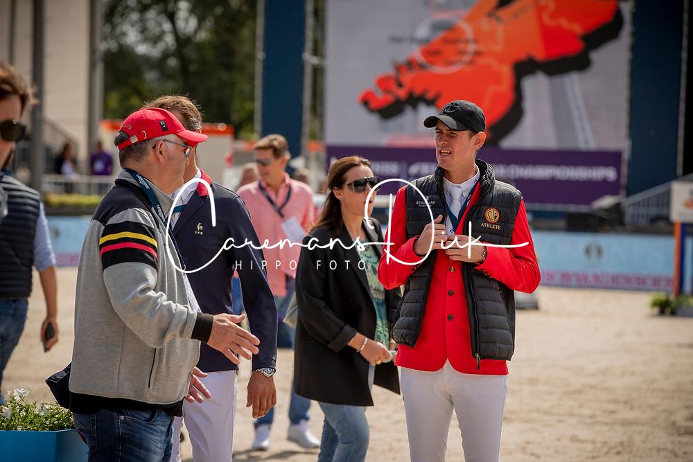 Verlooy Jos, BEL, Weinberg Peter, GER<br /> European Championship Jumping<br /> Rotterdam 2019<br /> © Hippo Foto - Dirk Caremans<br /> Verlooy Jos, BEL, Weinberg Peter, GER
