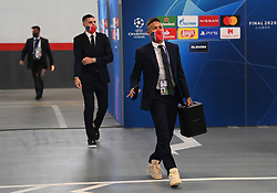 LISBON, PORTUGAL - Sunday, August 23, 2020: Neymar da Silva Santos Júnior of Paris Saint-Germain arrives before the UEFA Champions League Final between FC Bayern Munich and Paris Saint-Germain at the Estadio do Sport Lisboa e Benfica. (Credit: ©UEFA)