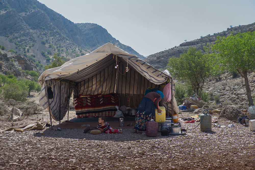 Nomadic lifestyle is slowly disappearing in Iran. At the moment, there is around 1.5 million people registered as nomads. But younger generation tends to abandon the traditional lifestyle and settle in big cities.