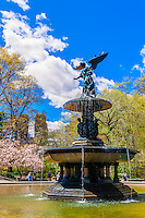 Bethesda Fountain, Central Park, New York, New York USA.