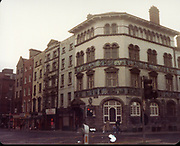 Old Dublin Amature Photos December 1983 WITH, Four Courts, North Quays, Parlement St, Gratton Bridge, Sea Horse, Lantern, Lampost, Chancery Inn, st, Arron Quay, Church, South Quays, Nashs, sunlight chambers, Old amateur photos of Dublin streets churches, cars, lanes, roads, shops schools, hospitals