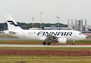 Finnair, Airbus A319-112 At Milan, Italy