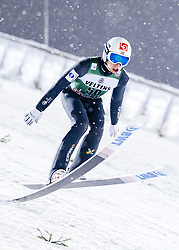 February 8, 2019 - Lahti, Finland - Johann André Forfang participates in FIS Ski Jumping World Cup Large Hill Individual training at Lahti Ski Games in Lahti, Finland on 8 February 2019. (Credit Image: © Antti Yrjonen/NurPhoto via ZUMA Press)