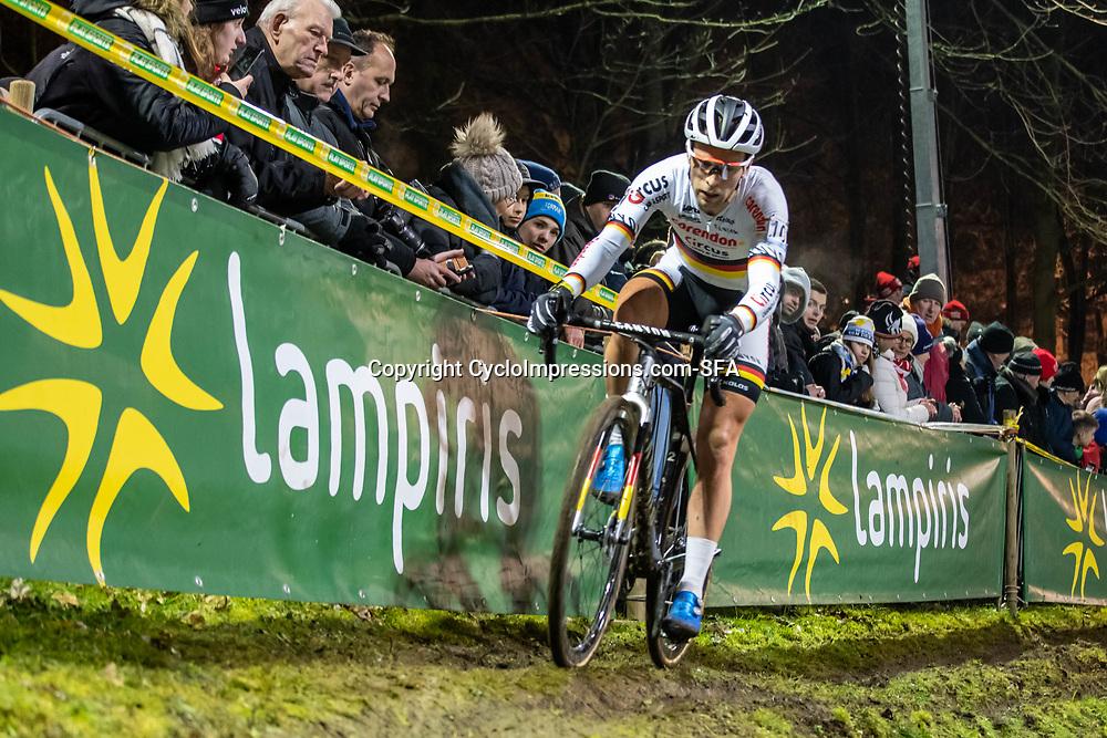 2019-12-29: Cycling: Superprestige: Diegem: German national Champion Marcel Meisen