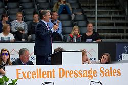 Olaerts Koen, Veilingmeester<br /> World Championship Young Dressage Horses <br /> Ermelo 2016<br /> © Hippo Foto - Leanjo de Koster<br /> 29/07/16