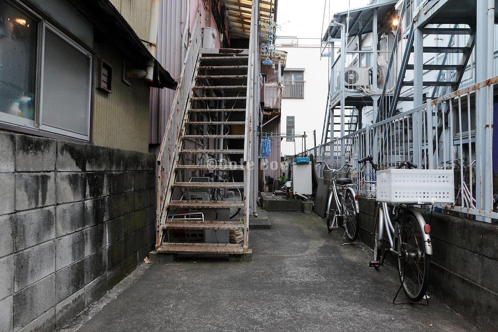 old residential housing Japan Yokosuka