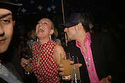 SARAH BOSNICH AND 'ABS' ( RICHARD BREEN)  OF FIVE. Party to Celebrate opening of New Diesel Store on 130 Bond St.  at store and afterwards at Victoria House, Bllomsbury Sq. 18 May 2006. ONE TIME USE ONLY - DO NOT ARCHIVE  © Copyright Photograph by Dafydd Jones 66 Stockwell Park Rd. London SW9 0DA Tel 020 7733 0108 www.dafjones.com