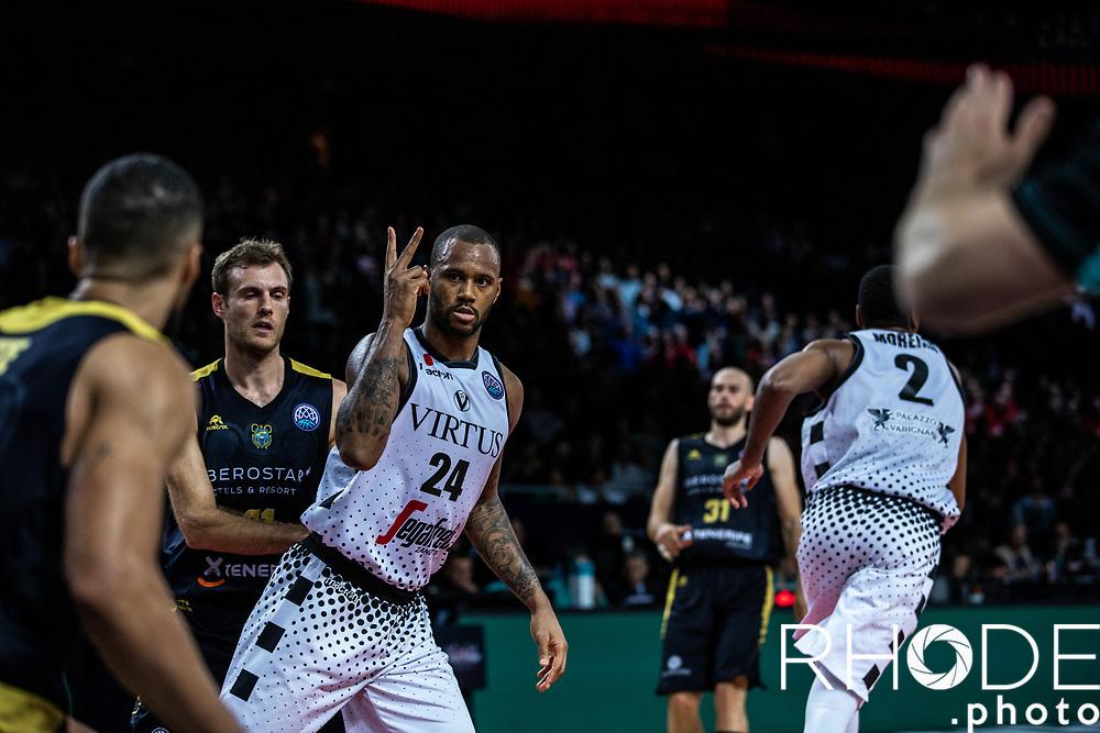 Basketball Champions League Final Four Antwerp 2019<br /> Final: Virtus Segafredo Bologna (ITA) vs. Iberostar Tenerife  73 - 61<br /> <br /> ©RhodePhoto