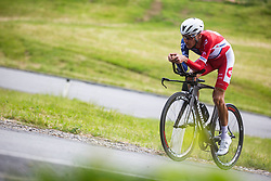 Jani Brajkovic during Slovenian Road Cycling Championship in time trial 2020 on June 28, 2020 in Zg. Gorje - Pokljuka, Slovenia. Photo by Peter Podobnik / Sportida.