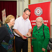 01.10.14            <br /> The Limerick City Community Safety Partnership will host a Safety Information Day for Older People. The event will feature important personal and home safety information for older people. Nutritional advice, occupational therapy, and care and repair demonstrations will also be provided. Advice and literature on a range of issues will be provided on the day by agencies including An Garda Síochána, Limerick City and County Council, Home Instead Senior Care, Limerick Fire and Rescue Service and the HSE. <br /> Attending the event at St. Johns Pavilion were, Anne English, Kilfinane and Josie Donegan, Ballyagran with Gearoid Browne, Fire Officer. Picture: Alan Place.