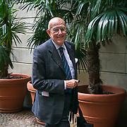 Mario Boelli, presidente della Camera Nazionale della Moda Italiana.<br /> <br /> Mario Boselli, president of the National Chamber for Italian Fashion.
