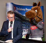 25/09/2018 Repro free: <br /> James Heaslip,who MC'd on the night and gg at the launch of Galway Racecourse  details of their new and exciting three-day October Festival that takes place over the Bank Holiday weekend, Saturday 27th, Sunday 28th and Monday 29th continuing racing and glamour into the Autumn.<br />   Each of the three race days offers something for all the family to enjoy, with a special theme attached to each day, together with fantastic horse racing, live music, delicious hospitality, entertainment and of course the meeting of old friends and new at Ballybrit.  <br /> Halloween Family Fun <br /> On Saturday 27th October come along with your children and grand children and enjoy the 'Spooktacular' Halloween themed family fun day with lots of entertainment including a fancy-dress competition, Halloween games and face painting to mention but a few!! All weekend children under 16 years of age have free admission. <br /> Race in Pink <br /> As part of this new October Festival and with-it being Breast Cancer Awareness month, Galway Racecourse have partnered with The National Breast Cancer Research Institute to host a dedicated fundraiser on Sunday 28th October called 'Race in Pink'.  <br /> <br /> Student Race Day in aid of the Voluntary Services Abroad <br /> Monday sees the return of our annual 'Student Race Day' in conjunction with the Voluntary Services Abroad (a medical aid charity run by the fourth-year medical students of NUI, Galway), and the NUIG Rugby Club.  Each year, this fundraising day for the student organisations raises a tremendous amount of money for their chosen projects including the VSA annual summer volunteer trip to Africa where they use the funds raised to help projects at the hospitals they visit. <br />  National hunt racing on Saturday kicks off at 2.05pm with racing Sunday and Monday off at 1.05pm. Adult admission on all three days is €15 with children under 16 years of age, free. For more information please check out www.galwa