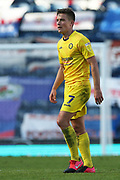 Wycombe Wanderers midfielder David Wheeler (7) during the EFL Sky Bet Championship match between Blackburn Rovers and Wycombe Wanderers at Ewood Park, Blackburn, England on 19 September 2020.
