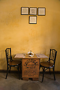 'Teapot' tearooms in the Fort area of Kochi (old Cochin).
