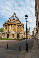 The Radcliffe Camera Durung Lockdown 2020,The Radcliffe Camera  is a building of Oxford University, England, designed by James Gibbs in neo-classical style and built in 1737–49 ,Photo by Mark Anton Smith