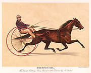 American Girl, The Grand Trotting Mare 1889