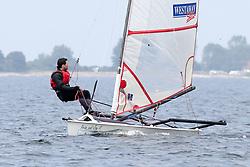 , Kiel - Kieler Woche 20. - 28.06.2015, Musto Skiff - GER 215 - Rindermann, Junis