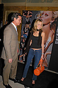 Noelle Reno and Matthew Mellon. MAC VIVA GLAM V party launching MAC Cosmetics latest charity lipstick at Home House. London. April 21 2005n. All proceeds go straight to the MAC AIDS Fund,. ONE TIME USE ONLY - DO NOT ARCHIVE  © Copyright Photograph by Dafydd Jones 66 Stockwell Park Rd. London SW9 0DA Tel 020 7733 0108 www.dafjones.com