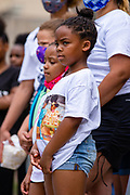 Wilkes-Barre, PA (July 11, 2020) -- Black Lives Matter NEPA United Movement organized a march to Wilkes-Barre Public Square.