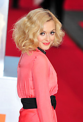 © Licensed to London News Pictures. 12/02/2012. London, England. Fearne Cotton arrives for the Orange British Academy Film Awards at The Royal Opera House on February 12, 2012 in London, England. Photo credit : ALAN ROXBOROUGH/LNP
