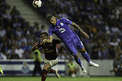 July 28, 2018 - Porto, Porto, Portugal - Porto's Brazilian forward Soares in action during the Official Presentation of the FC Porto Team 2018/19 match between FC Porto and Newcastle, at Dragao Stadium in Porto on July 28, 2018. (Credit Image: © Dpi/NurPhoto via ZUMA Press)