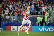 Mario Mandzukic of Croatia after his goal during the 2018 FIFA World Cup Russia, final football match between France and Croatia on July 15, 2018 at Luzhniki Stadium in Moscow, Russia - Photo Thiago Bernardes / FramePhoto / ProSportsImages / DPPI