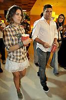 20120207: SAO PAULO, BRAZIL - Former Brazilian football star Ronaldo Nazario and wife Bia Antony attend Reis e Ratos (Kings & Rats) premiere at SP.<br /> PHOTO: CITYFILES