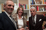 MARK SHAND; LADY ALEXANDRA ETHERINGTON; NICKY HASLAM, Drinks party given by Basia and Richard Briggs,  Chelsea. London. SW3. 13 February 2014.