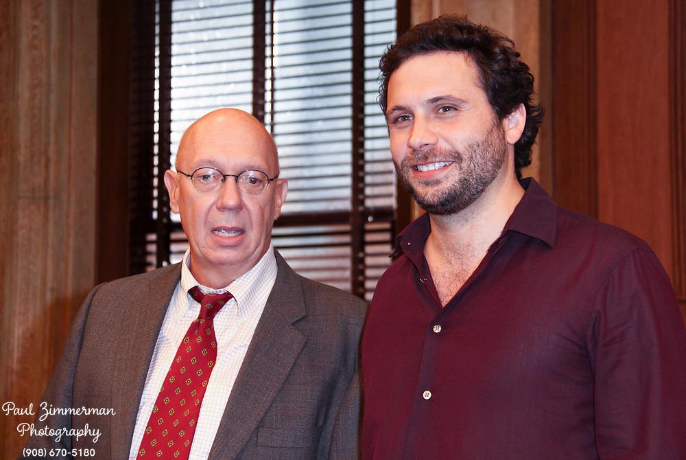 23 September 2009 - New York, NY -  Dan Florek and Jeremy Sisto. Law and Order's 20th Season Kickoff twenty years of arresting drama. Photo Credit: Paul Zimmerman/AdMedia