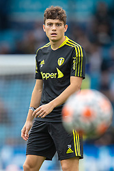LEEDS, ENGLAND - Sunday, September 12, 2021: Leeds United's Daniel James during the pre-match warm-up before the FA Premier League match between Leeds United FC and Liverpool FC at Elland Road. Liverpool won 3-0. (Pic by David Rawcliffe/Propaganda)