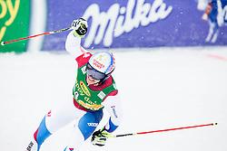 Loic Meillard (SUI) during 2nd Run of 10th Men's Giant Slalom race of FIS Alpine Ski World Cup 55th Vitranc Cup 2016, on March 5, 2016 in Kranjska Gora, Slovenia. Photo by Vid Ponikvar / Sportida