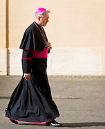 King Phillipe and Queen Mathilde visit Pope Francis, Vatican 09-03-2015