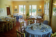 restaurant interior domaine de cabasse rhone france