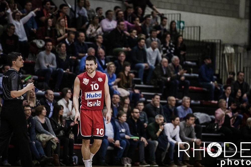 Euromillions Basketball League Belgium<br /> gameday - 2019 March 15:<br /> Hubo Limburg United - Spirou Charleroi : 82-79<br /> <br /> ©RhodePhoto