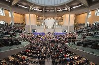12 FEB 2017, BERLIN/GERMANY:<br /> Uebersicht waehrend der Abstimmung, 16. Bundesversammlung zur Wahl des Bundespraesidenten, Reichstagsgebaeude, Deutscher Bundestag<br /> IMAGE: 20170212-02-081<br /> KEYWORDS: Übersicht