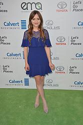 Tara Lynne Barr bei den Annual EMA Awards in Los Angeles / 221016<br /> <br /> *** 26th Annual EMA Awards in Los Angeles on October 22, 2016 ***