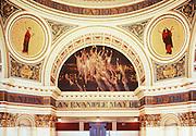 PA Capitol Complex, Harrisburg, PA Rotunda Art, Joseph Huston Architect, Edwin Abbey, Artist