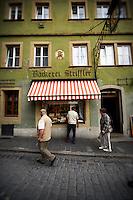 A bakery storefront, Rothenburg, Germany